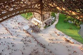 dining with eiffel tower view. paris orientation, lunch at eiffel tower, followed by river cruise dining with tower view