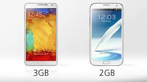 Samsung Galaxy Note 3 vs. Galaxy Note 2