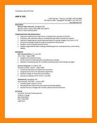Combination Resume Formats 6 7 Hybrid Resume Format Examples Italcultcairo Com