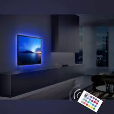 Ambient Light Behind Tv Buy Tv Backlights Bias Lighting 2x19 7in 16 Ft 30 Led Strip