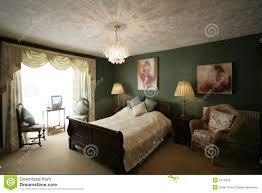 Green Bedroom Stock Photos Image - Green bedroom