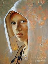 johannes vermeer painting canvas prints and johannes vermeer i had not seen this