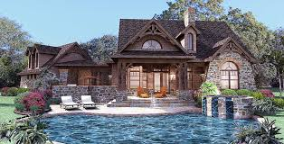 small stone cabin plans tiny cottage house english rustic stone cottage house plans with porch
