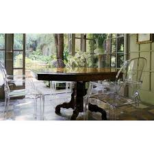 philippe starck louis ghost chair. louis ghost chair by philippe starck for kartell dining table