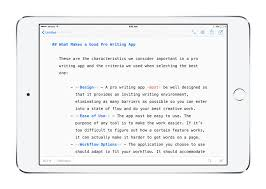 the best writing app for mac ipad and iphone the sweet setup ulysses for ipad