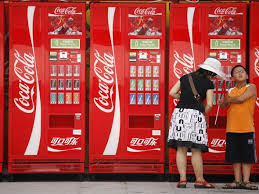 Coca Cola Vending Machine Customer Service Delectable Soda Vending Machines Will Display Calories Business Insider