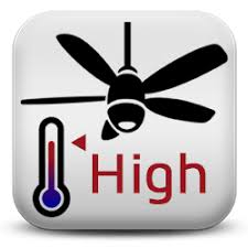 hvac fan icon. here is a smartapp i did called 3 speed ceiling fan thermostat and specifically designed to work with your ge smart control device. hvac icon