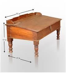 antique writing desk tables pepperfry com
