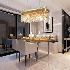 luxury gold chandelier lighting dining room suspension crystal lamp kitchen island led cristal res ac110 240v light 1 order chandelier chain swag