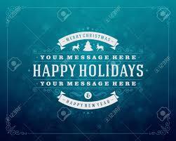Retro Holidays Christmas Retro Typography And Light With Snowflakes Merry Christmas