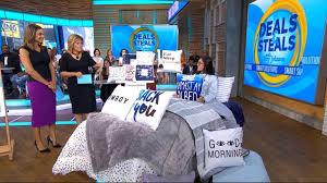 gma deals and steals on must have bedding wall art beach towelore abc news