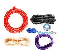 pkg soundstream scx farad capacitor gauge amplifier wiring pkg soundstream scx4 farad capacitor 4 gauge amplifier wiring install wire kit 7
