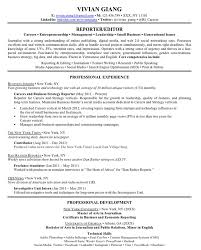 how to write an excellent resume business insider vivian giang resume
