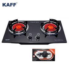 Combo Bếp gas âm hồng ngoại Kaff KF-208I + Bộ dây van ngắt gas tự động  Namilux