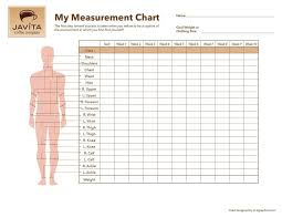 Body Fitness Chart Free Body Measurement Chart Body Measurement Chart Weight