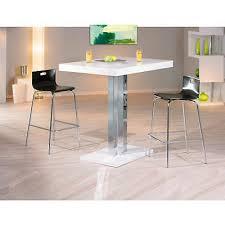 Table Salle à Manger Meuble Cuisine Rectangulaire Moderne Chrom