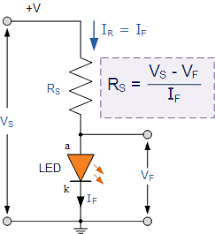 light emitting diode or the led tutorial led series resistor circuit