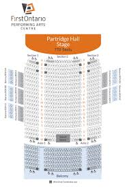 Four Seasons Centre Performing Arts Toronto Seating Chart View Seat Maps For All Venues At The Firstontario Performing