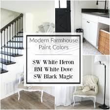 farmhouse paint colorsChoosing Modern Farmhouse Paint Colors
