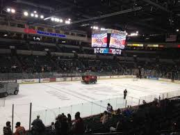 Cure Insurance Arena Section 118 Home Of Trenton Titans
