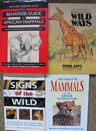 2 animal identification and behavior guides