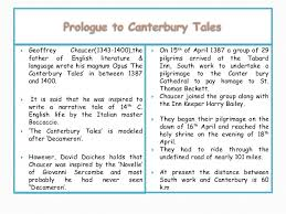 prologue to the canterbury tales prologue to the canterbury tales 1 i s 2