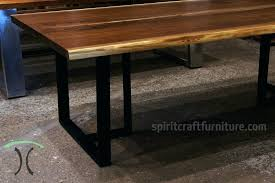 chicago coffee table book a stunning live edge black walnut 96x42 dining table from book matched