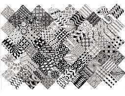 Zentangle Patterns Pdf Best Decorating Design