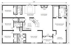 ... 3 Bedroom Modular Home Floor Plans 4 Bedroom 3 Bath Ranch Plan Google  Image Result For ...