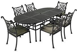 furniture metal. Metal Garden Furniture Enhances Your Gardens Beauty