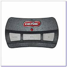 genie garage door opener remote control