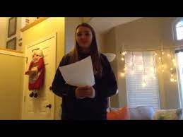 Paige Fritz solar system speech - YouTube