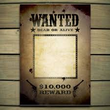 wanted photoshop template wanted poster template free poster templates backgrounds