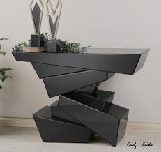 black modern console table tauri modern console table lud black whale lighting