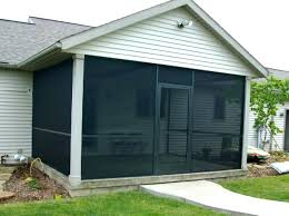 screened in back porch spartan screen patio cost per square foot decorating ideas screened in back porch