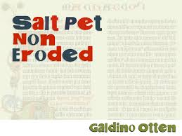 Salt Pet Non Eroded Font Free Decorative Display Collage Just