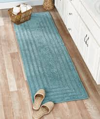 attractive 72 inch bath rug runner reversible cotton bath rugs or 72 runners the lakeside collection