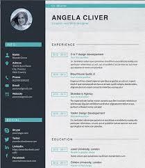 Free Resume Designer 20 Free Resume Design Templates For Web Designers Elegant Themes