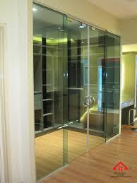 reliance home tg800 frameless sliding door 3