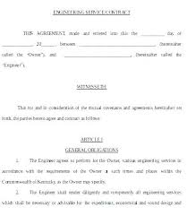 Service Agreement Samples Home Maintenance Plumbing Maintenance Contract Template