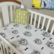 new cute baby crib bedding sheet cartoon cot bed junior bed baby bed fitted sheets mattress cover clouds tree stars pattern