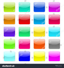 Vector Glossy Button Icon Stock Vector Royalty Free 184600073