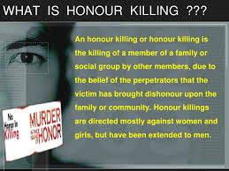 honour killing honour killing a social injustice 2