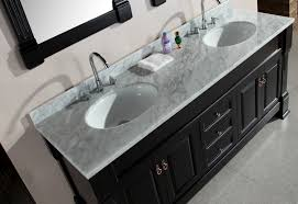 double sink vanity top only by adorna 72 double sink vanity set with carrara white