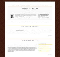 Design Templates Resume Layout Download Best Template Design