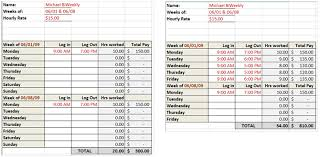 Excel Weekly Timesheet Template Need A Timesheet Template To Track Your Hours Here Are 12