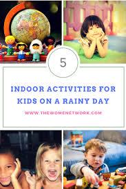 indoor activities for kids. Indoor Activities For Kids On A Rainy Day