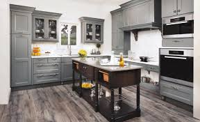 grey cabinets in kitchen. kitchen classy black steel hanging pendant lamp natural wooden counter white granite countertop patterned blue ceramic · gray cabinets grey in
