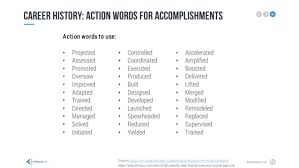 Power Words For Resumes 100 Original Professional Resume Power Words