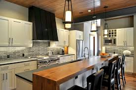 Example of a transitional galley dark wood floor kitchen design in Seattle  with stainless steel appliances